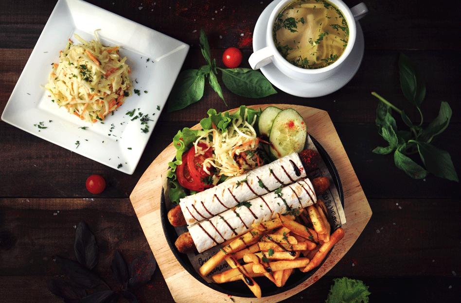 Доставка вкусной еды в Пушкине